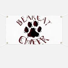 BEARCAT CHEER *5* Banner