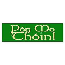 C&P Pog Mo Thoin Bumper Bumper Sticker