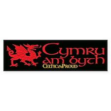 C&P Cymru am byth Bumper Sticker