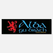C&P Alba Gu Brath Bumper Bumper Sticker