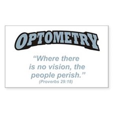 Optometry / Perish Decal