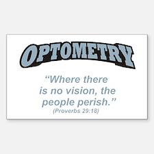 Optometry / Perish Decal