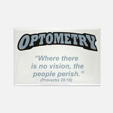 Optometry / Perish Rectangle Magnet