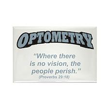 Optometry / Perish Rectangle Magnet (100 pack)