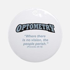 Optometry / Perish Ornament (Round)