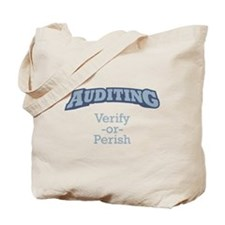 Auditing / Verify Tote Bag