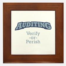 Auditing / Verify Framed Tile