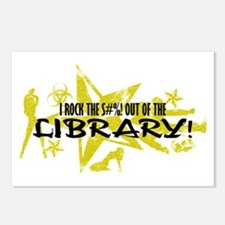 I ROCK THE S#%! - LIBRARY Postcards (Package of 8)