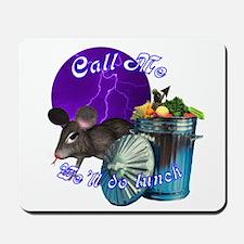Moon Rat Mousepad