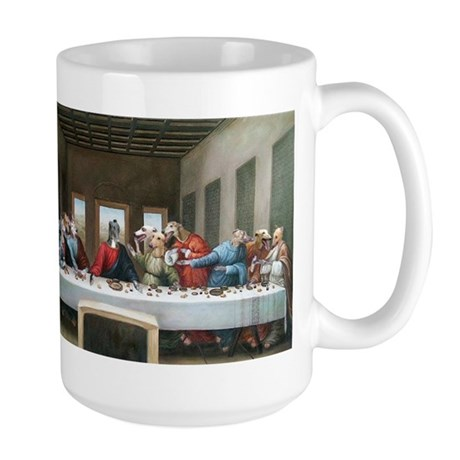 Last Pupper Large Mug