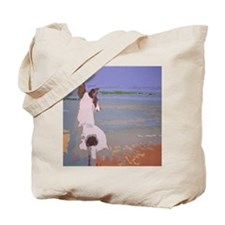 Looking Out to Sea Tote Bag