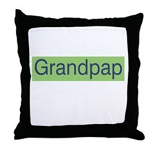 Grandpap Throw Pillow