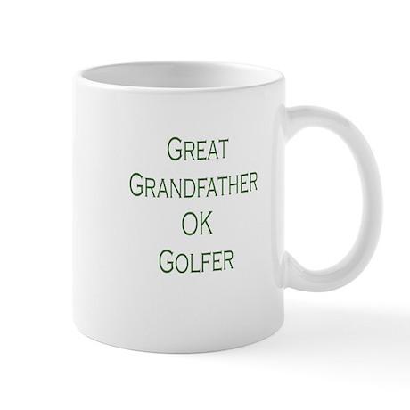 Great Grandfather Ok Golfer Mug