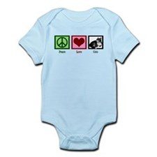 Peace Love Cats Infant Bodysuit