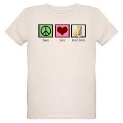 Peace Love Polar Bears T-Shirt
