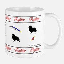 """Sheltie Agility"" Mug"