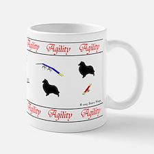 """Sheltie Agility"" Small Mugs"