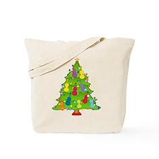Cello Christmas Tote Bag