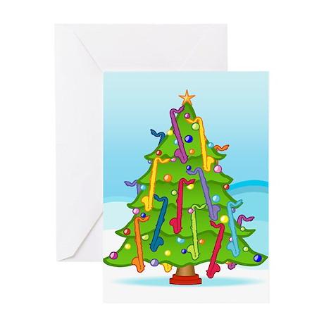 Clarinet Christmas Greeting Card