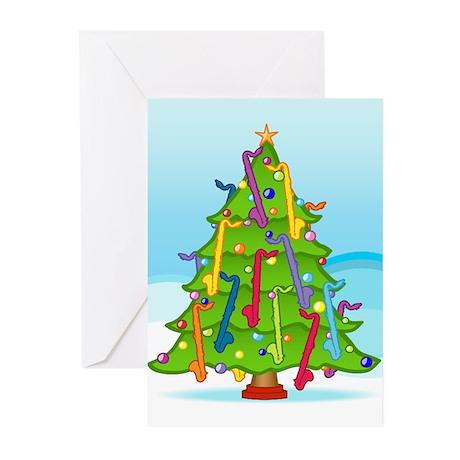 Clarinet Christmas Greeting Cards (Pk of 20)