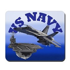 F18 & USS Truman Mousepad