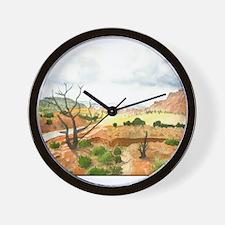 Capitol Reef Scenic Drive Wall Clock