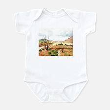 Capitol Reef Scenic Drive Infant Bodysuit