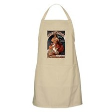 Chocolat Ideal by Mucha Apron