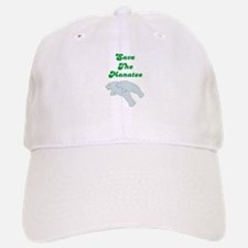 SAVE THE MANATEE Baseball Baseball Cap