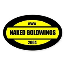 Goldwing Shop #Naked GW Oval Decal
