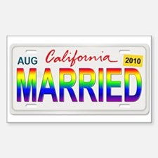 MARRIED Decal