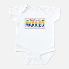 MARRIED Infant Bodysuit