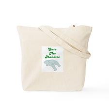 SAVE THE MANATEE Tote Bag