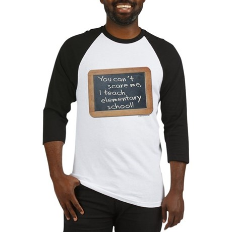Can't scare me elementary Baseball Jersey