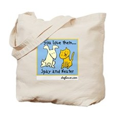 Cute Neuter Tote Bag