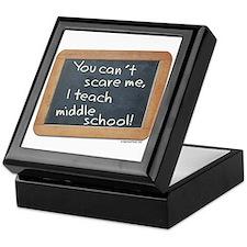 Can't scare me middle school Keepsake Box