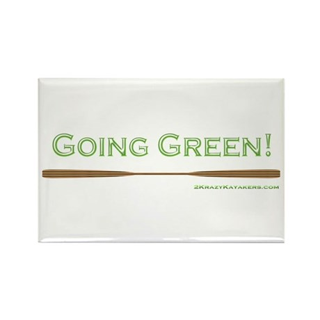 Going Green Rectangle Magnet (10 pack)