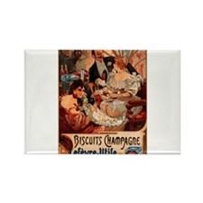 Biscuits Champagne Lefevre Utile by Mucha Rectangl