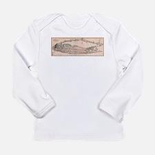 Vintage Long Island NY Railroa Long Sleeve T-Shirt