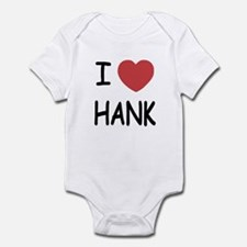 I heart hank Infant Bodysuit