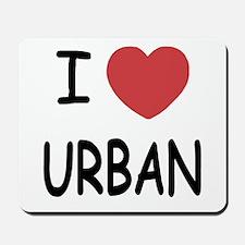 I heart urban Mousepad
