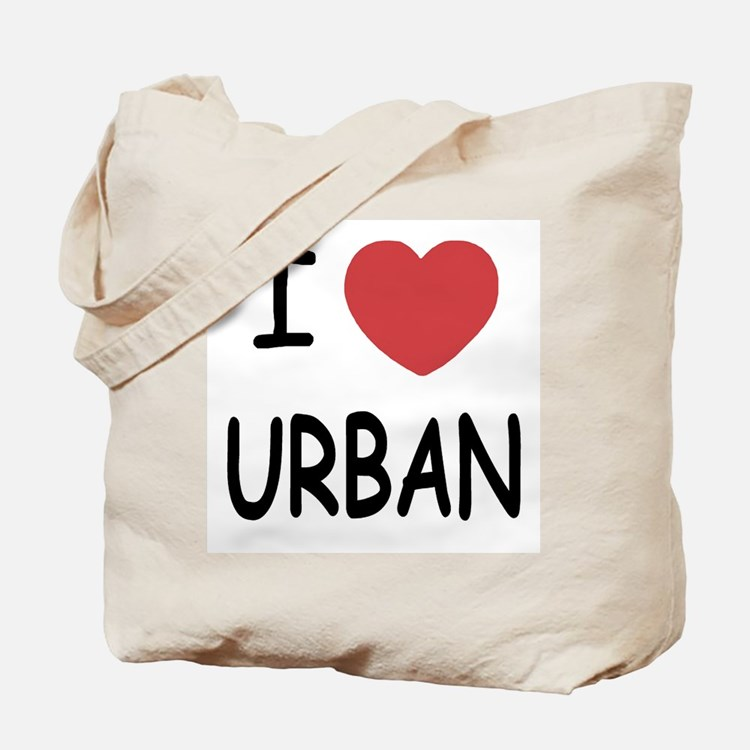 I heart urban Tote Bag