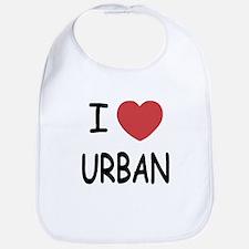 I heart urban Bib