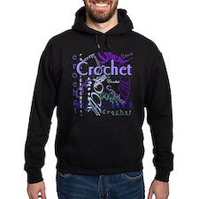 Crochet Purple Hoodie