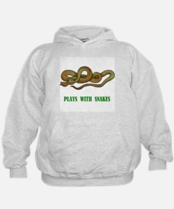 Plays With Snakes Hoodie