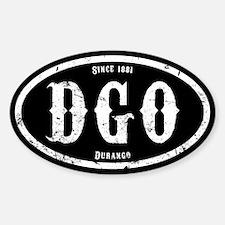 Durango Colorado Sticker (Oval)