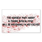 ZombieVerse Sticker (Rectangle 10 pk)