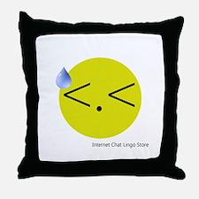 <.< Throw Pillow