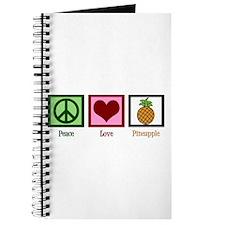 Peace Love Pineapple Journal