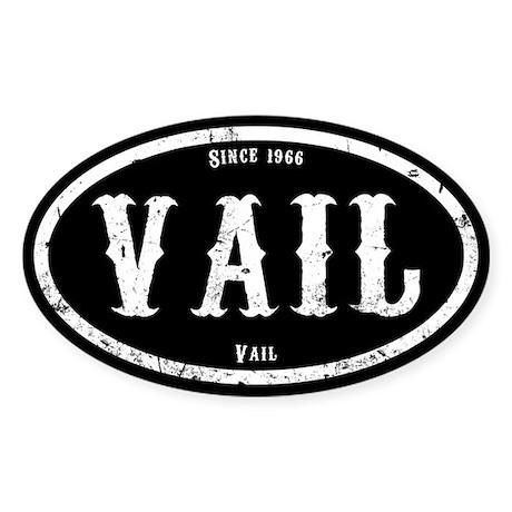 Vail Colorado Sticker (Oval)
